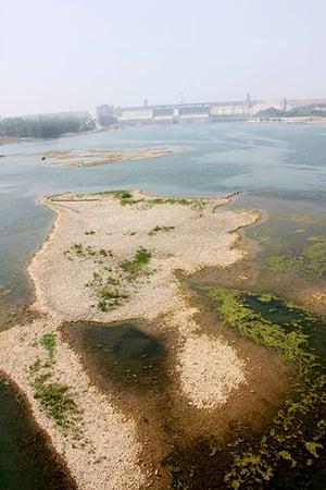 Drought in China: #CHINA-HUBEI-DANJIANGKOU RESERVOIR-LOW WATER LEVEL (CN)
