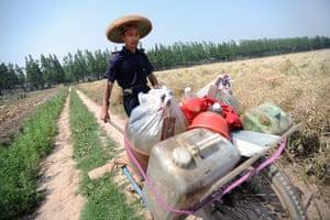 Drought in China: CHINA-HUNAN-HUBEI-DROUGHT (CN)