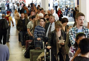 Volcano travel disruption: Tegel airport