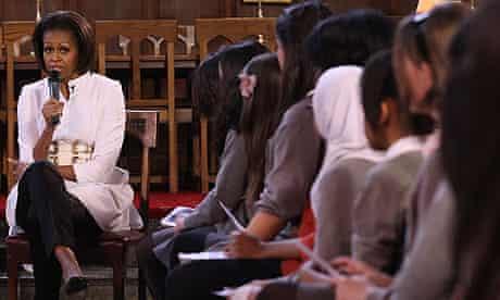 Michelle Obama in Oxford