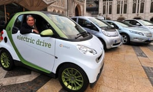 Electric car capital race hots up as London adds charging points