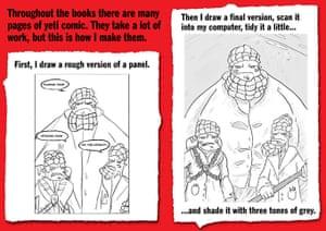 How to draw... a yeti: How to draw... a yeti
