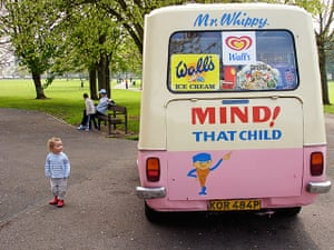 In pictures: expectation: ice-cream van