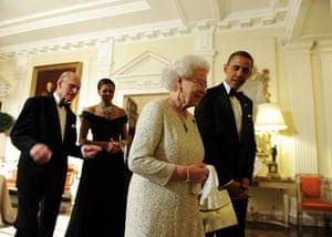 Obama Update: Barack Obama sees off Britain's Queen Elizabeth II in London