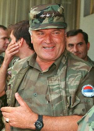 Znalezione obrazy dla zapytania Ratko Mladić