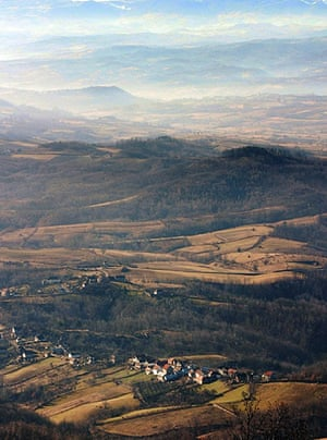 Ratko Mladic: 22 February 2006: Cer Mountain, on the border with Bosnia