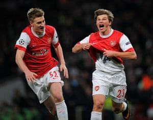 Barcelona: Arsenal's Russian midfielder Andrey Arsh