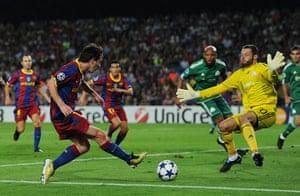 Barcelona2: Barcelona v Panathinaikos FC - UEFA Champions League