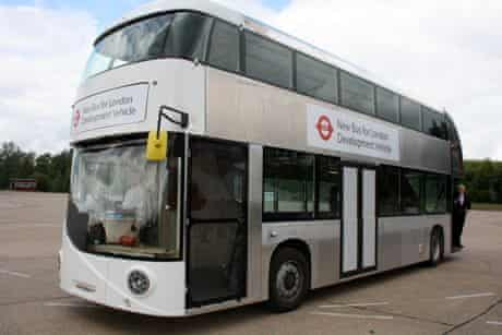 Boris Johnson new london bus