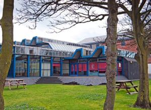 listed buildings: Redcar Central Library