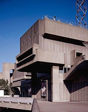 listed buildings: Hayward Gallery, London