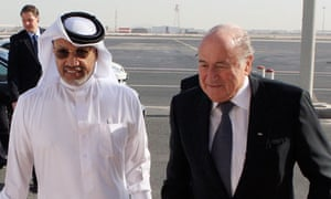 Fifa: Mohamed bin Hammam and Sepp Blatter