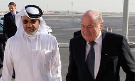 Fifa: Mohamed bin Hammam and Sepp Blatter