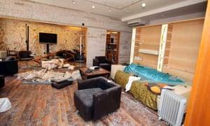 Muammar Gaddafi house