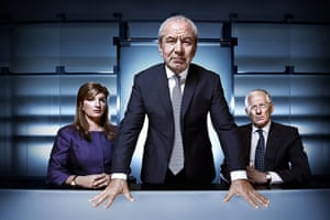 The Apprentice 2011: The Apprentice 2011: Karren Brady, Lord Sugar and Nick Hewer