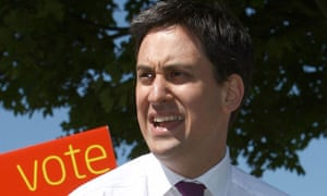 The Labour leader, Ed Miliband