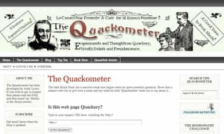 Quackometer blog