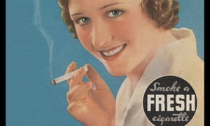 Before smoking was bad ... a 1932 cigarette advertisement