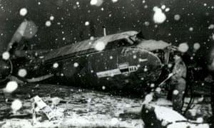 Munich air disaster 1958 SOCCER Munich/Man Utd 3