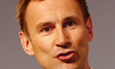 Jeremy Hunt: The highest-placed cabinet MP on Sexymp.co.uk
