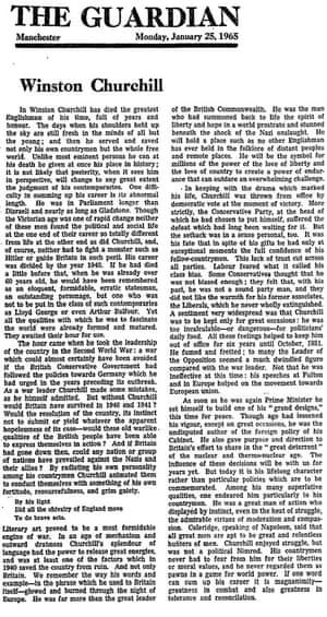 Chruchhill essay