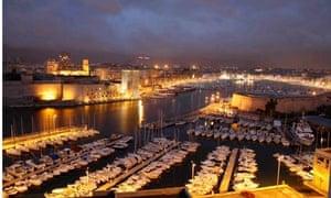 Marseilles at night