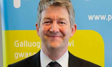 Steve Harding of Aneurin Bevan health board in Gwent
