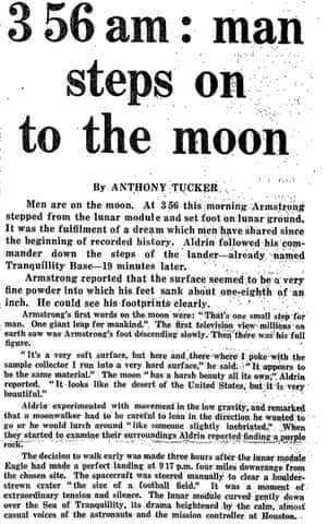 1969 I remember staying up all night to watch the Moon ...  |Huntsville Newspaper Moon Landing