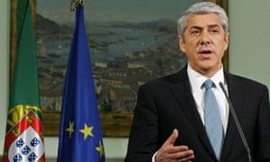 Portugal prime minister Jose Socrates