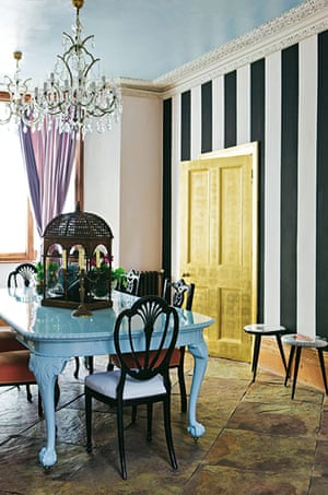 Interiors: Bold over: Interiors: Bold over, dining room