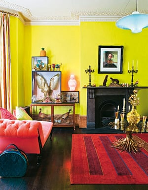 Interiors: Bold over: Interiors: Bold over, living room