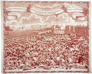 Guardian at 190 years: The Guardian 190th anniversary, Peterloo Handkerchief