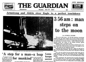 Guardian at 190 years: The Guardian 190th anniversary, Moon landings
