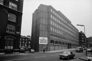 Guardian at 190 years: The Guardian offices at Farringdon Road