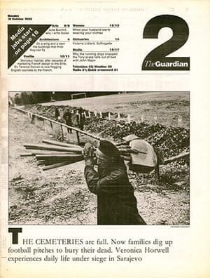 Guardian at 190 years: G2 cover in October 1992