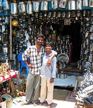 In pictures: Metallic: Tamil Nadu father and son