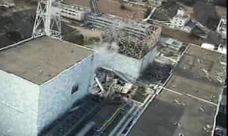 Fukushima nuclear reactor Unit 1 which workers have entered after the Japanese quake and tsunami