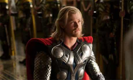 Thor, with Chris Hemsworth