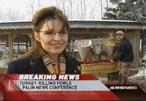 10 best: Sarah Palin: turkey pardon