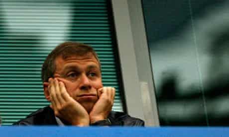 Chelsea's owner Roman Abramovich