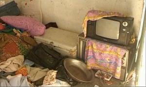 Osama bin Laden's compund in Abbottabad