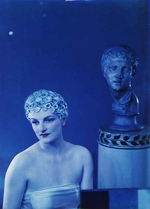 Madame Yevonde: Mrs Anthony Eden as Clio, the Muse of History