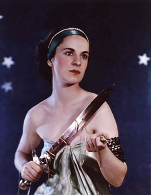 Madame Yevonde: Nadine, Countess of Shrewsbury as Ariadne