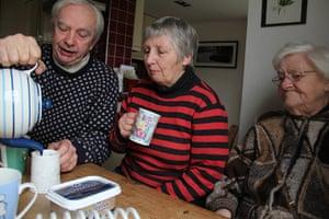 Carers UK members: Ian Mackay, Carers UK members