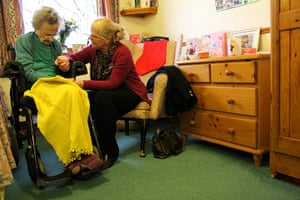 Carers UK members: Jean and her mother
