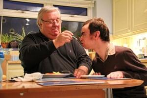Carers UK members: John and James Pearson, Preston