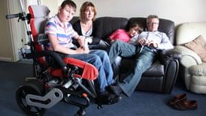 Carers UK members: Carers Sherry Pugh and Terry Nichols, Bedford