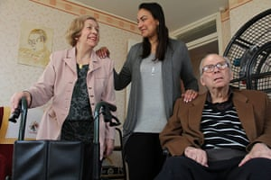 Carers UK members: Yasmine Maya cares for her mother and father