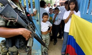 Colombia has been plagued by drugs-related violence, guerilla warfare and state oppression