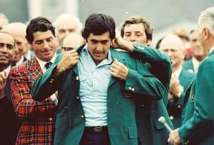 Seve Ballesteros: 1980 Augusta National Archive